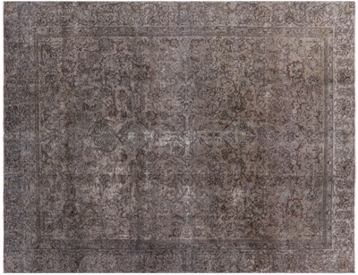Hand Knotted Overdyed Rug