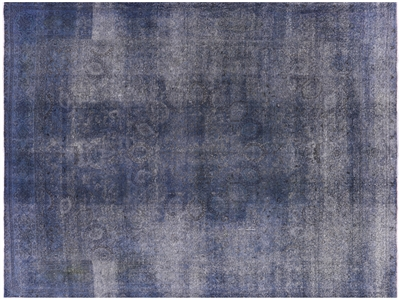 Hand Knotted Overdyed Area Rug