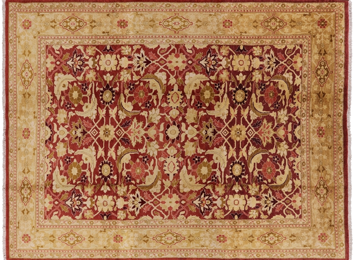Hand Knotted Peshawar Rug