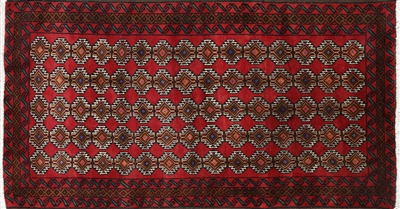 Tribal Design Persian Oriental Balouch Wool Area Rug