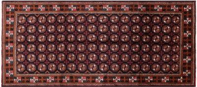 Traditional Persian Balouch Wool Runner