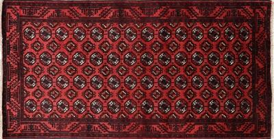 wool on wool persian handmade bokhara rug - Bokhara Rug