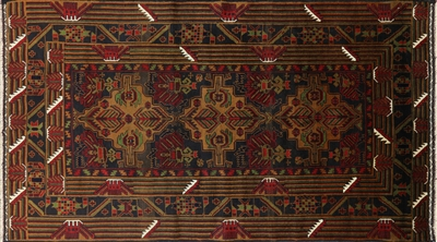 Persian Balouch Wool Area Rug