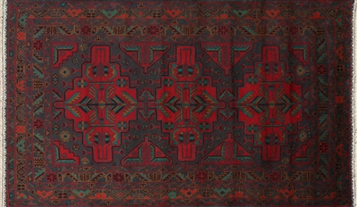 Hand Knotted Oriental Persian Area Rug
