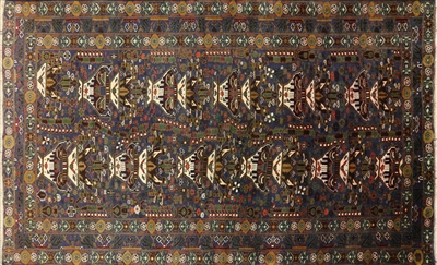 Tribal Oriental Persian Balouch Area Rug