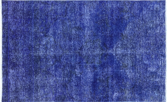 Oriental Blue Overdyed Rug