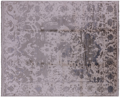 Oriental Silk Hand Knotted Rug
