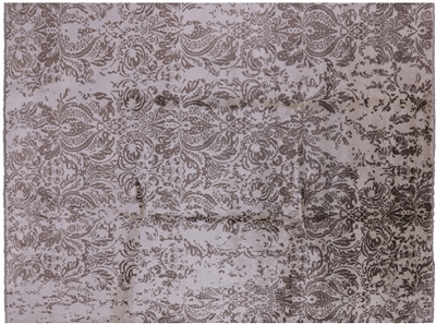 Hand Knotted Silk Area Rug
