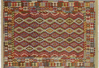 Kilim Hand Knotted Oriental Rug