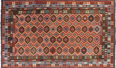 Hand Knotted Kilim Wool & Wool Rug