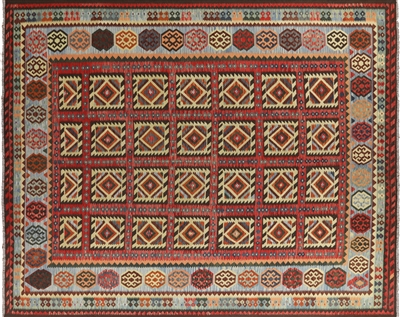 Kilim Hand Knotted Wool Rug