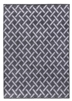 Ambience Criss-Cross Rug - Dark Grey/Grey