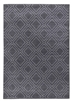 Ambience Double Diamond Rug - Dark Grey/Grey