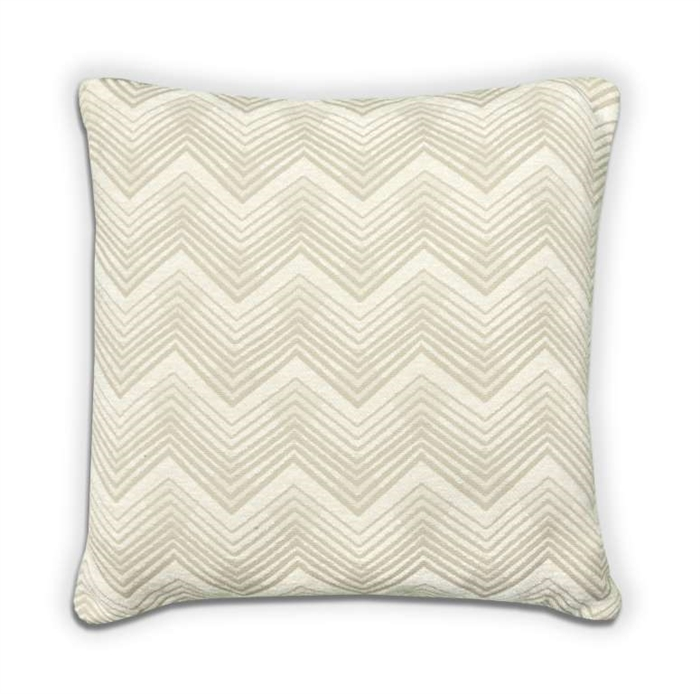 Chevron Cushion - Cream