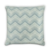 Chevron Cushion - Duck Egg