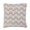 Chevron Cushion - Grey