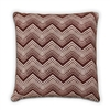 Chevron Cushion - Wine