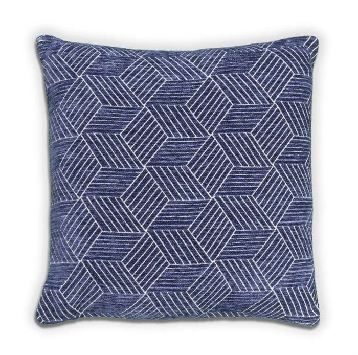 Cube Cushion - Navy