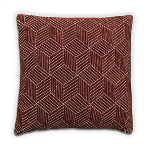 Cube Cushion - Wine