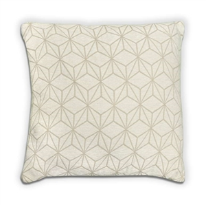 Geo Cushion - Cream