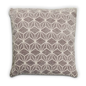 Geo Cushion - Grey