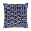 Geo Cushion - Navy