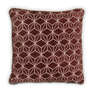 Geo Cushion - Wine