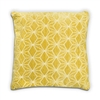 Geo Cushion - Yellow