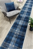 glendale hall stair runner navy blue
