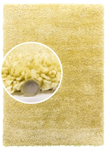 dreams yellow shaggy rug