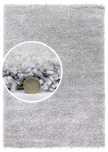 Dreams light grey shaggy rug