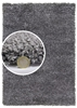dreams shaggy rug dark grey