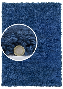 dreams blue shaggy rug