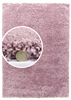 dreams pink shaggy rug