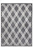 toscana trellis medium grey rug