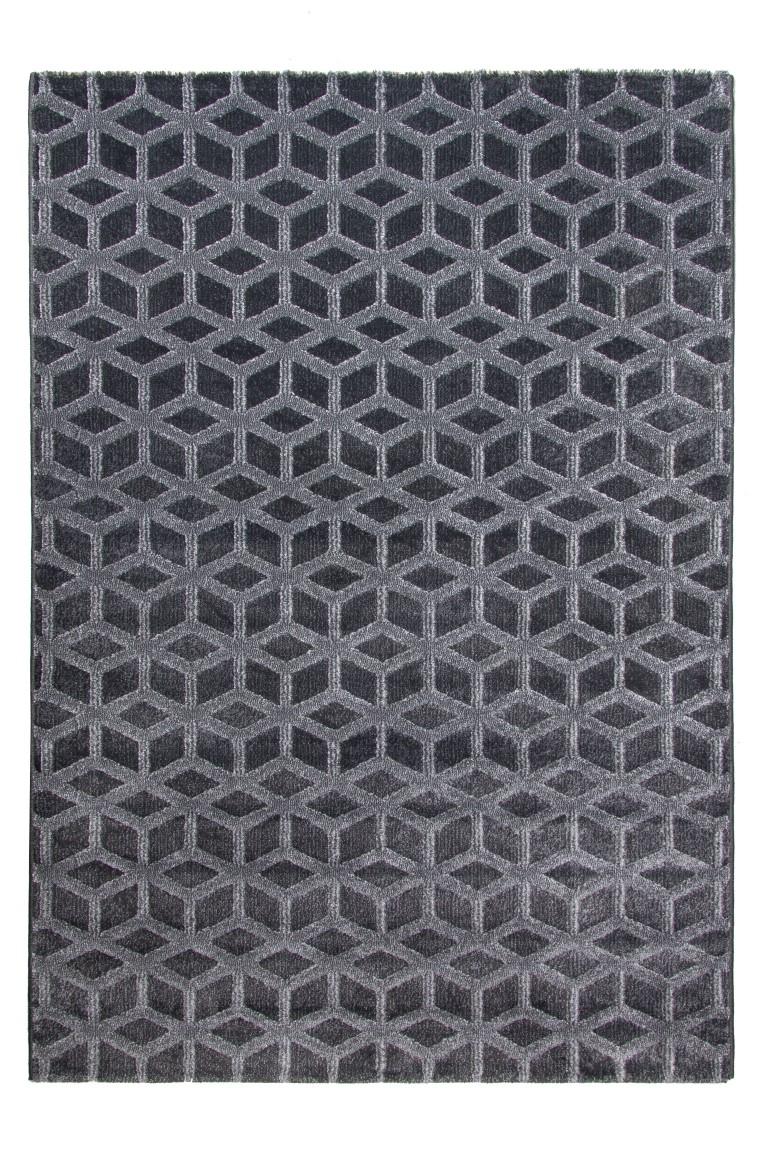 Toscana Cube Grey Rug