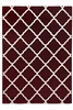 toscana lattice red rug
