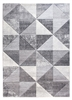Impulse Triad Geometric Rug - Grey