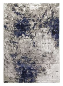 Bellini Mirage rug - light grey / navy