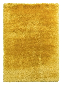 Bentley Shaggy Rug - Yellow