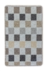 Patchwork Kitchen Mat - Beige
