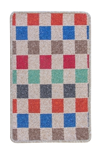 Patchwork Kitchen Mat - multicoloured