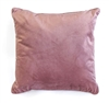 velvet cushion rose pink