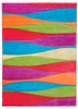 Candy Waves Modern Rug