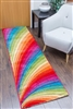 candy runner rug rainbow