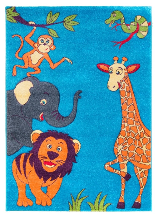Children's-Zoo-Rug