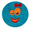 Teal smiles-Children's-Rug