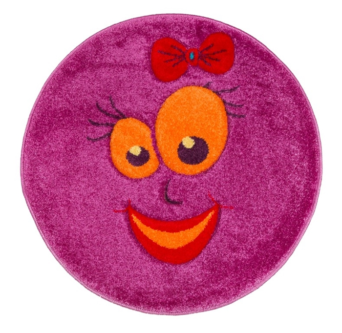 Pink smiles-Children's-Rug