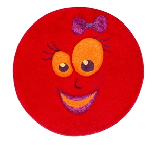 Red-smiles-Children's-Rug