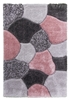 luxus-stones-shaggy-rug-pink-grey